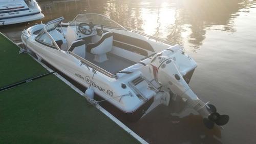 lancha open 3v tango 470 evinrude 60 hp eco6 nautica milione