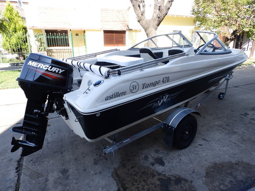 lancha open 3v tango 470 mercury 40 hp elo nautica milione 2