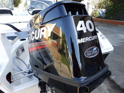 lancha open 3v tango 470 mercury 40 hp elo nautica milione 5