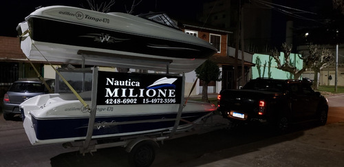 lancha open 3v tango 470 nautica milione permuta tarjetas 14
