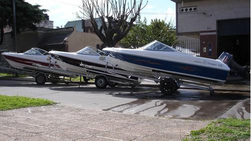 lancha open 3v tango 470 power tec 40 hp nautica milione 2