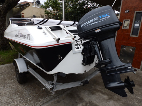 lancha open 3v tango 470 power tec 40 hp nautica milione 5