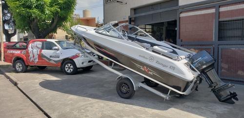 lancha open 3v tango 470 power tec 40 hp nautica milione 8