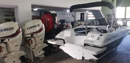 lancha open 3v tango 470 power tec 40 hp nautica milione 9