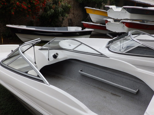 lancha open 3v tango 470 power tec 40 hp nautica milione