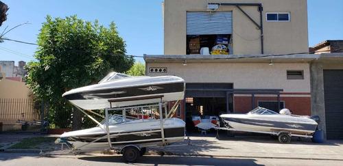 lancha open 3v tango 470 stock permanente nautica milione 1