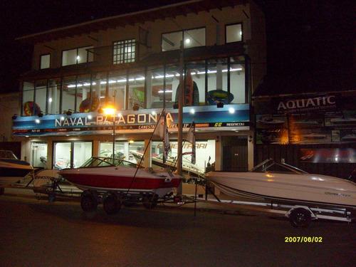 lancha open 4,40 mt oferton okm!! en naval patagonia!!!