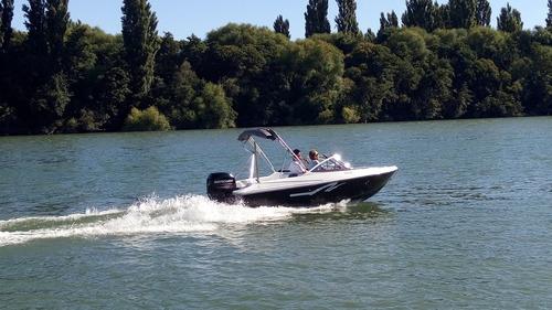 lancha open 490 con 50 hp yamaha 4t entrega inmediata 2020