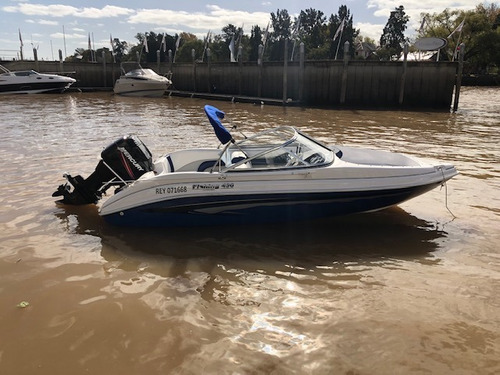 lancha open arco iris fishing 490 mercury 90 hp 2t 114 horas