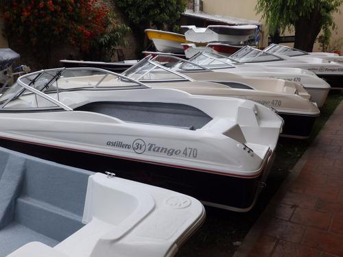 lancha open astillero 3v tango 470 nautica milione perm tarj