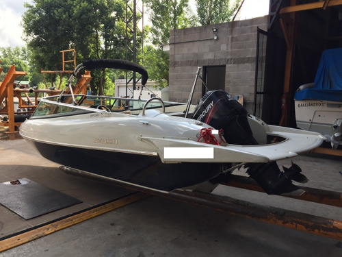 lancha open avalon x3 con mercury 90 hp año 2012
