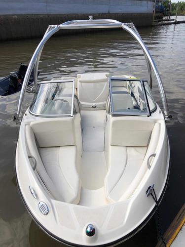lancha open bayliner 185 br wakeboard mercruiser americana