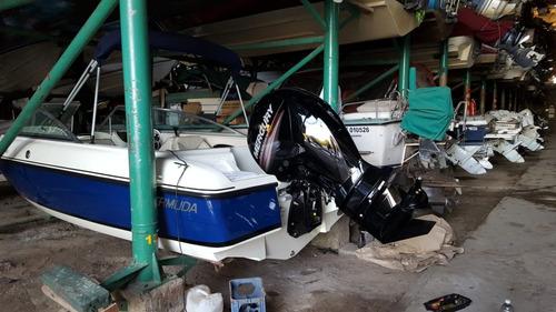 lancha open bermuda twenty mercury 150 hp 4t a matricular !!