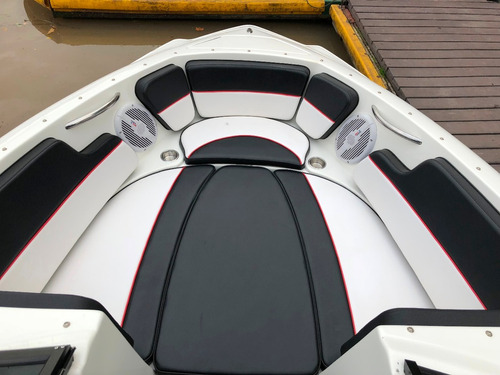 lancha open classer 206 con evinrude 200 hp 65 hs impecable!