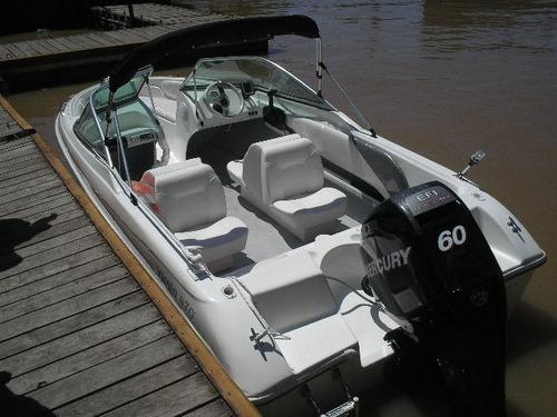 lancha open con mercury 75 hp 4 tiempos todo okm