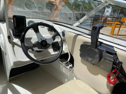 lancha open excedo 160 con motor mercury 40 hp