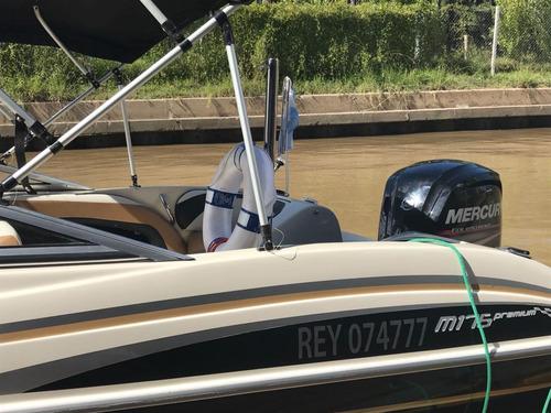 lancha open excedo 175 mercury 115 hp 4 tiempos en guardería