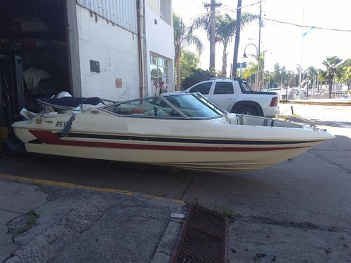 lancha open fensa 520 año 99 con johnson 115 hp oportunidad!