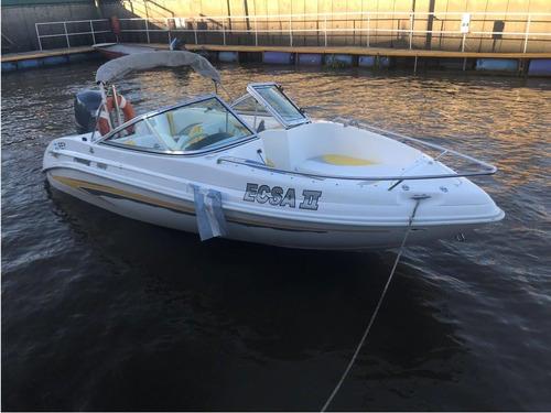 lancha open. fishing 4.90 , motor 90 cv yamaha 4t nueva!!!