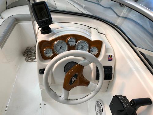 lancha open geuna 185 furia con mercury 115 hp 4 tiempos