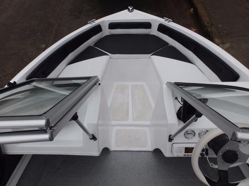 lancha open map 480 evinrude e-tec 60 hp eco nautica milione