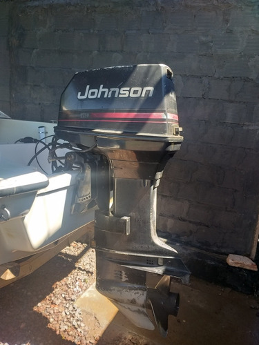lancha open mistic 460 + motor jhonson 40hp 2t.