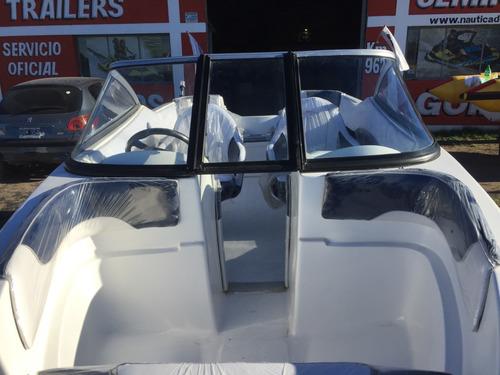 lancha open nueva 2020 suzuki 4t 60 hp apto uso en lagos