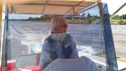 lancha open, pescadora, fisherman vendo - permuto