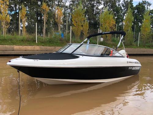 lancha open quicksilver 1800 con evinrude 135 hp v6 ho e-tec