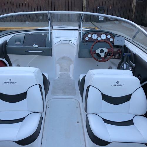 lancha open quicksilver 1800 evinrude 135 hp ecologico 55 hs