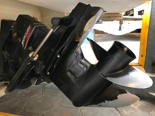 lancha open quicksilver 1950 con mercruiser 190 hp 2007 wake