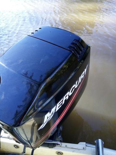 lancha open quicksilver 490 2011 mercury 90 hp impecable!!
