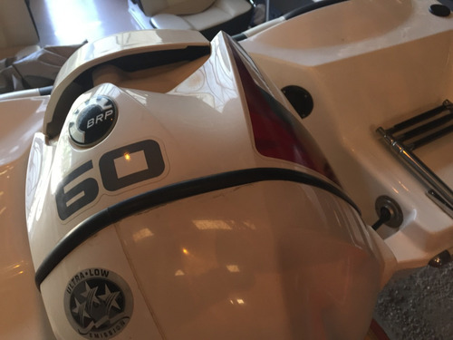 lancha open quicksilver 495 con evinrude etec 60 hp 2015