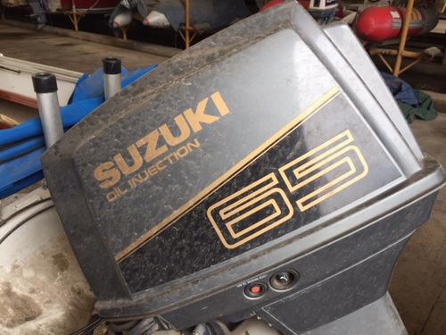 lancha open regnicoli dorado con suzuki 65 hp año 1995