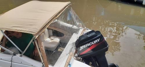 lancha open virgin marine 506 con mercury 60 hp 2t completa!
