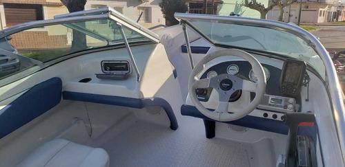 lancha open vision 460 mercury 60 hp full nautica milione