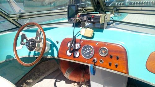 lancha original astillero artesano eje ford sprint permuto