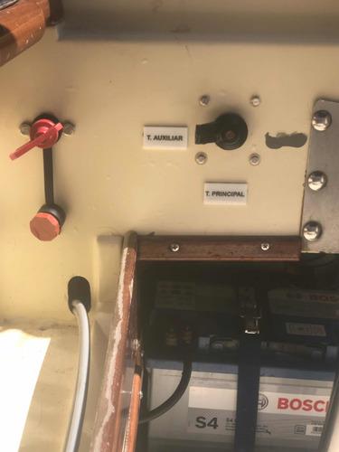 lancha paglietini 17 pies con mercury 115 optimax + trailer