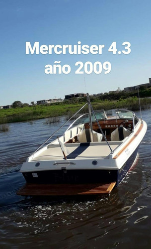 lancha pagliettini 620 mercruiser 225 hp año 2009 restaurada