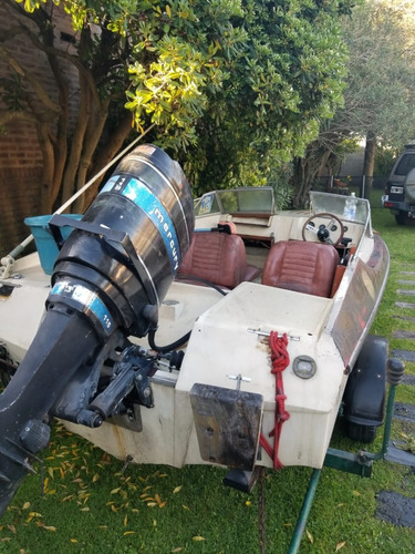 lancha pagliettini rs 49 motor mercury 115 c/detalles en arr
