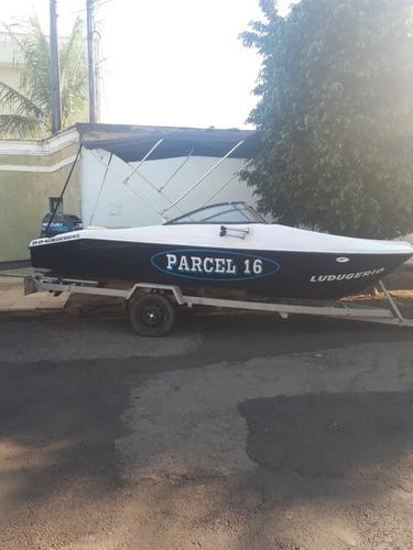 lancha parcel 160 +  mercury 40 hp eletrico