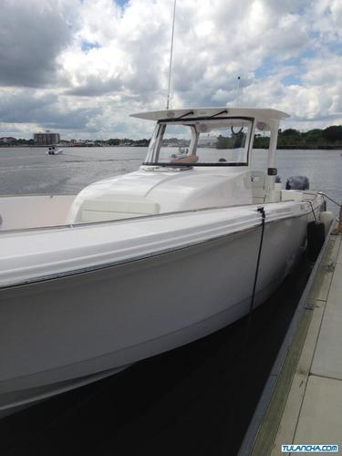 lancha pesca deportiva edgewater 370cc nueva