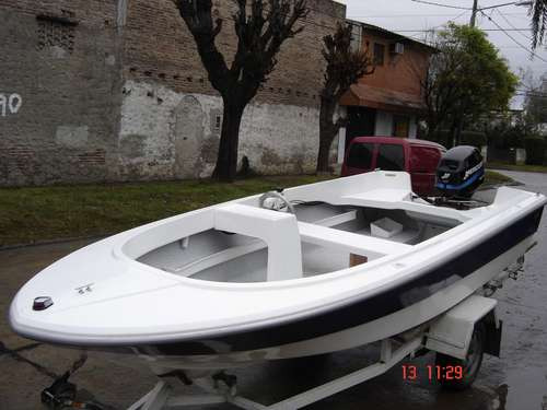 lancha  pescadelta 425 olympic marine 2017 nuevo sin motor