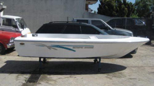 lancha  pescadelta 425 olympic marine 2019 nuevo sin motor