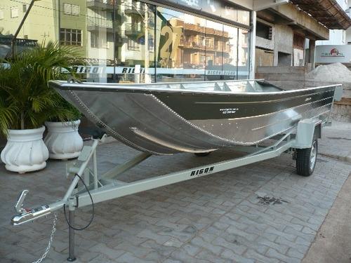 lancha pescadora aluminio hasta 40 hp
