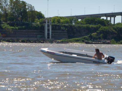 lancha pescadora atuel 4.60 .0km sin motor