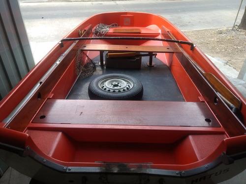 lancha pescadora regnicoli trucha c/ trailer - toneautos