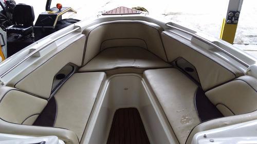 lancha phantom 235, motor evinrude 225, revisada, impecável!