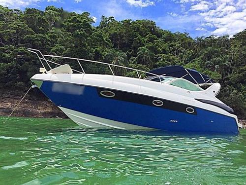 lancha phantom 345, 2003 - 02 yammar 315 - marina atlântica