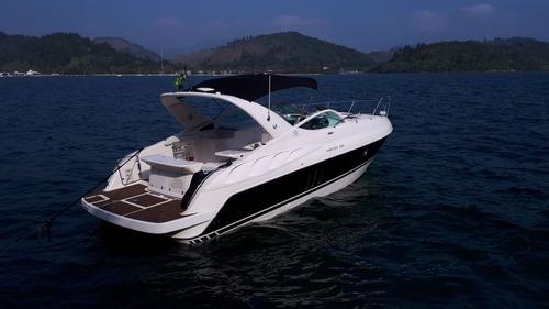 lancha phantom 360 com 2 mercruiser 4.2l 250hp 2008 completa
